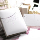 """Writing a review (return NG) ' guest book bijoux cheki for card type ( 60 cards into ), correspondence, wedding guest book guestbook"