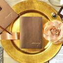 Mocha invitations handmade Kit and correspondence, wedding invitations