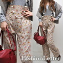 High waist floral バギーパンツサス with suspenders dress entrance ceremony long pants ladies % off sale half price ladies ladies 2013 aw 2013 fall sale winter.