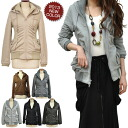It's winter coat outerwear coat back hair material netlib switching hooded Loofah collar blouson coat W ジップシャー ring outer ladies % off sale half price ladies ' ladies 2013 aw 2013 fall sale