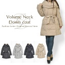 Down coat Lady's outer volume neck down coat volume collar Mods coat winter coat woman summer clothes summer clothes