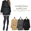 2013 レディスレデイース 2013aw fall and winter in the fall and winter latest coat outer coat trench coat fake wool trench coat double button shortstop length medium length Lady's woman 2013