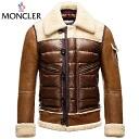 "[MONCLER] Mouton real leather down jacket ""DELACROIX( ドラク ..."