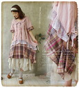 Collection of color one piece natural forest girl check one piece a beautiful candy like. * a flared hemline and ruffled check pattern one piece fs3gm