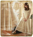 Gentle drape and linen wide underwear ゜ +. which embodied in lady's wide underwear natural linen ~13 *Favorite original * ultimate adult Natural of the flare silhouette which seems to wear asymmetry race .* ゜ long skirt