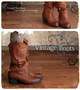 Boots natural forest girl leg is cut with vintage belt dress as good heel kusyukusyu boots