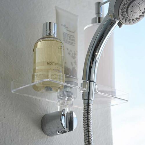 LUXS シャワーホルダートレイ