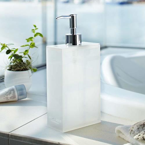 Veil(ヴェールライト) 2wayディスペンサー(ホワイト) 620ml 詰め替えボトル