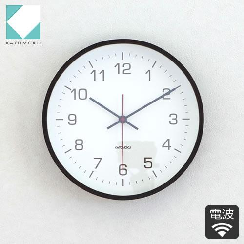 KATOMOKU plywood wall clock 4 ���Ȼ��� �ɳݤ� �������ץ�֥���(Ϣ³�ÿ�) �֥饦��