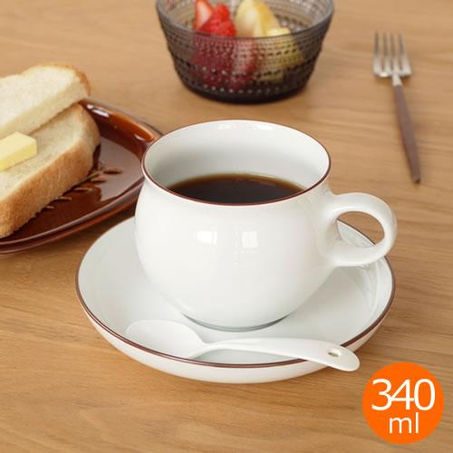 白山陶器 G型モーニング カップ&ソーサー コーヒーカップ 波佐見焼 HAKUSAN