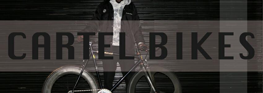 ピストバイク 完成車 CARTEL BIKES AVENUE LO CHROME DINER FROMT 3SPOKE CARBON WHEEL CUSTOM カーテル バイクス アベニュー ロー クローム ダイナー CARTEL BIKES カーテルバイクス
