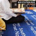 BUS STATION RUG 140×200