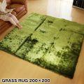 GRASS RUG グラスラグ 200×200