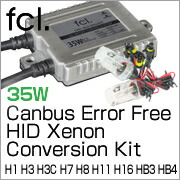 35W CAN-BUS Error Free Xenon HID Replacement Light Bulbs