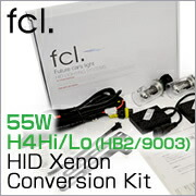 55W H4 Hi/Lo (HB2/9003) HID Xenon Conversion Kit