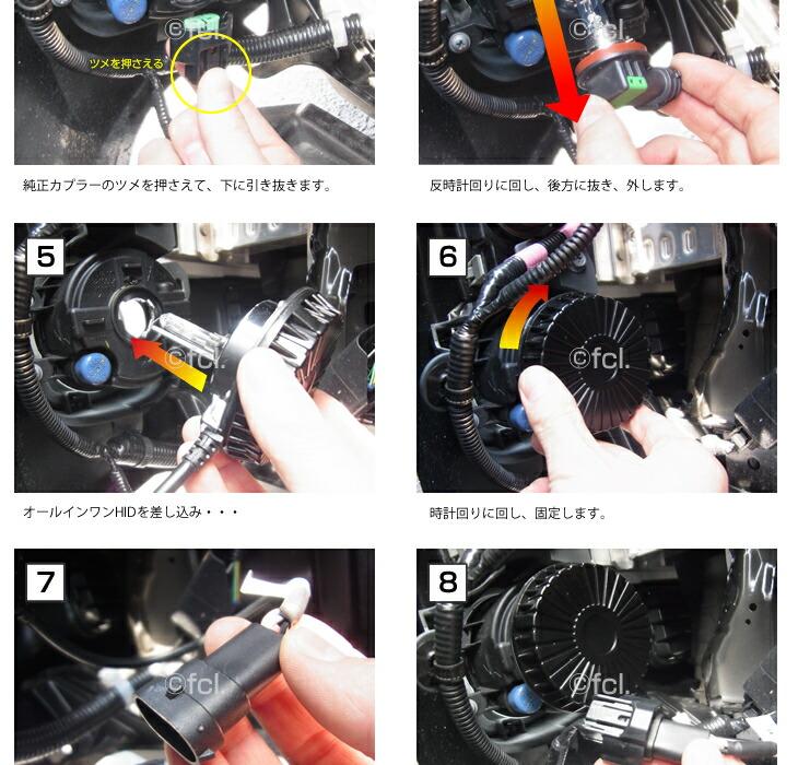 HID フォグ 35W 型式選択【H8/H11/HB4/H16】【【HID フォグ/35W/オールインワン/HIDシングルバルブ/一体型/フォグランプ/HIDキット/HIDバルブ/fcl/通販 /