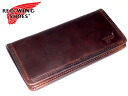 Redwing Red Wing SHOES popular brand RED WING leather leather boots fabric father's day レッドウイングクロムエクセル leather wallet purse men and women cum for mens ladies Saif presents fold long wallet purse Bill slot chocolate 960-2101.