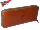 Redwing RED WING, オロイジナル series expression zip around wallet Brown (Brown) Cha 960-2402