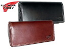 Redwing Red Wing SHOES popular brand RED WING leather leather boots Robusto series zip dough around two bi-fold wallet purse men and women and for men's women's Saif presents fold wallets wallet Bill slot black (black) black and chocolate 960-395
