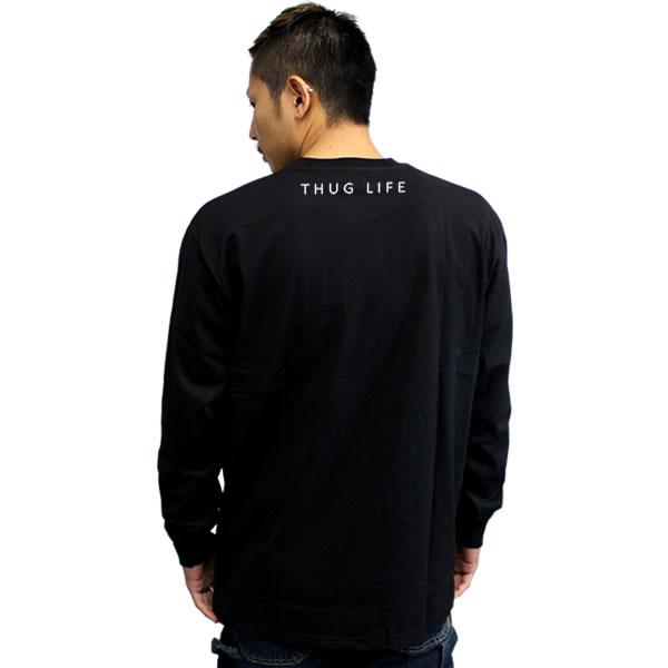thuglife 和暴徒生活长袖 t 衬衫蝎收藏家 logo 黑色黑帮品牌 hiphop