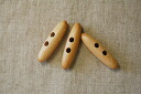 Wood toggle button (three sets)