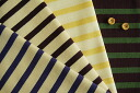 16 番双引 comes, and gather; horizontal stripes (knit)