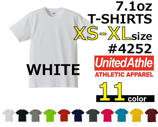 ��XS-XL�ۡڥۥ磻�ȡ�7.1oz ��������ƥ��å������ѡ��إ�����T����� ��UNITED ATHLE(��ʥ��ƥåɥ�����)�ۡڸ�ꡦ̵��Ⱦµ��US���åȥ�4252-01��������˽�����UnitedAthle��508��