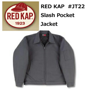 ��RED KAP�ʥ�åɥ���å�)����å���ݥ��åȥ�����㥱�å�(΢����ƥ���)SLASH POCKET JACKET ��7.25oz̵�ϡ���󥺡ۡڿ��������ʡ�jt22��1019����̵