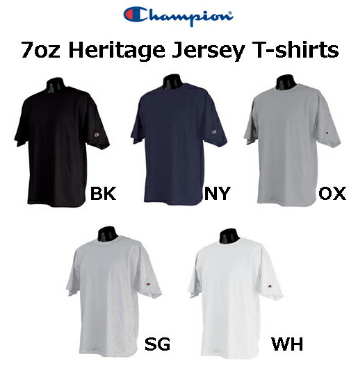 �����ԥ��������إ�ơ������㡼����T����ġ�Champion��Heritage Jersey T-Shirts�ۡ�µ�˥?����ˡڸ��̵��Ⱦµ��ۡ�527��