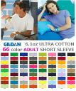 Gildan Short Sleeve T-shirt Colors Gildan Plain Short Sleeve
