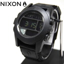 NIXON/ Nixon // watch /THE BAJA/ALL BLACK/ the バハ / men watch / clock /2 age guarantee