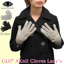 Black Sheep black sheep GL07A Knit Gloves Lady's knitted glove hand bag gloves ladies