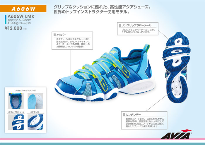 [AVIA]アビア A606W[AQUA SHOES] LMK