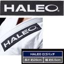 "[HALEO]ハレオ 柔術着用・""HALEO""ロゴパッチ 【HALEO×ブルテリア限定版】"
