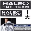 "[HALEO]ハレオ 柔術着用・""HALEO TOP TEAM""ロゴパッチ〔大〕 【HALEO×ブルテリア限定版】"