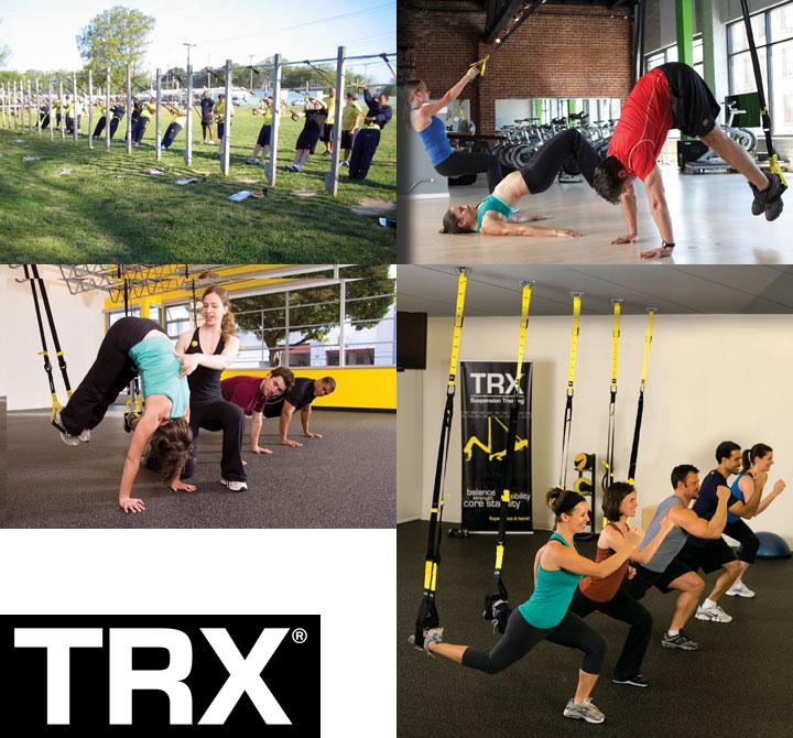 TRXグループエクササイズ