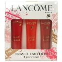 LANCOME TRAVEL EMOTION 3 JUICY TUBES (15mlx3) / Lancome juicy tubes 3-piece set