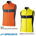 BROOKS ( Brooks ) NIGHT LIFE nightlife essential ランベスト 2 (men) running wear 10% 'Not allowed'