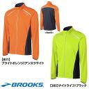 """4 (men's) 10% of BROOKS (Brooks) NIGHT LIFE nightlife Infinity jacket ランニングウエアー OFF! """"Impossibility"""""""