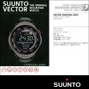 SUUNTO VECTOR Suunto Vector ChacoalGray (charcoal grey) ( assured genuine manufacturers 2 year guarantee / Japan Japanese instructions included )