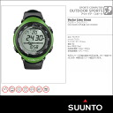 SUUNTO VECTOR Suunto Vector LimeGreen (lime green) ( assured genuine manufacturers 2 year guarantee / Japan Japanese instructions included )