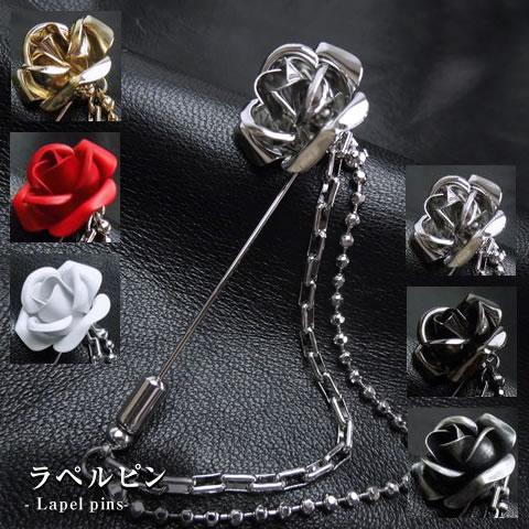 薔薇ラペルピン