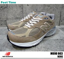 New balance M990 BG3 NEWBALANCE M990 BG3 BEIGE beige mens Sneakers Shoes product arrival report view in large sale 35% off
