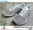 It is the fixture of the review after the arrival to the New Balance ML72 AG NEWBALANCE ML72 AG GRAY gray men sneakers product