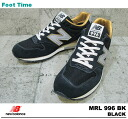 In the promise of the new balance MRL996 AG NEWBALANCE MRL996 AG BLACK black mens sneakers product arrival report view