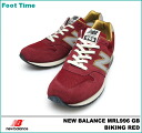 New Balance MRL996 GB NEWBALANCE MRL996 GB D:width buffet red BIKING RED unisex men gap Dis sneakers