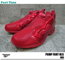 Reebok ポンプフューリー HLS verbal Reebok PUMP FURY HLS VERBAL RED V44935