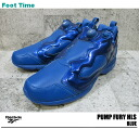 Reebok ポンプフューリー HLS verbal Reebok PUMP FURY HLS VERBAL BLUE V44936