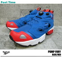 Reebok ポンプフューリー Reebok PUMP FURY BLUE/RED V53783