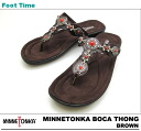 For 70200 ミネトンカボカトング MINNETONKA BOCA THONG BRONZE/BLACK/WHITE/RED bargain items, I return goods and I change it and am not accepted